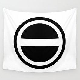 Curtis Holt Logo (Black) Wall Tapestry