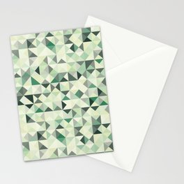 colorful Triangles 2 Stationery Cards