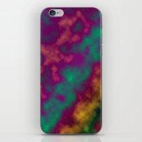 tie dye iPhone & iPod Skins featuring Tie Dye by Kings in Plaid