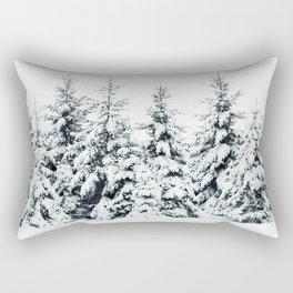 Snow Porn Rectangular Pillow