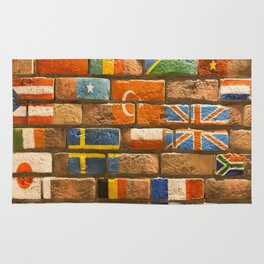 flags Wall Rug