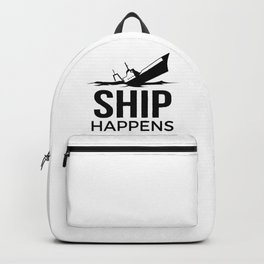 Ship Happens Backpack