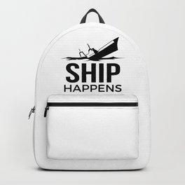Ship Happens Backpack