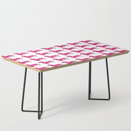 Doxie Love - Pink Coffee Table