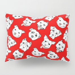 Pittie Pittie Please! Pillow Sham