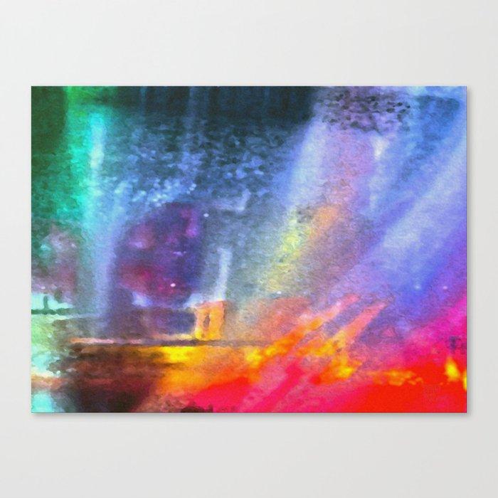 Fiery Fire Canvas Print