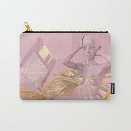 Pastel Humanoid Diskette Carry-All Pouch