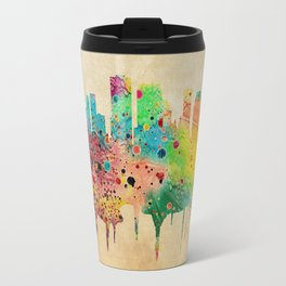 New Orleans Watercolor Print City Skyline Home Decor Travel Mug