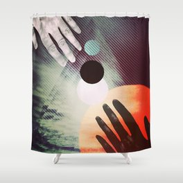 (Almost) Touching Shower Curtain