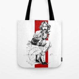 Art Nouveau Lady. Tote Bag