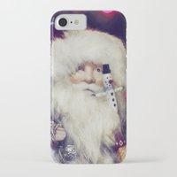 santa iPhone & iPod Cases featuring Santa by ThePhotoGuyDarren