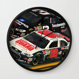The #Earnhardt's at #Daytona Wall Clock