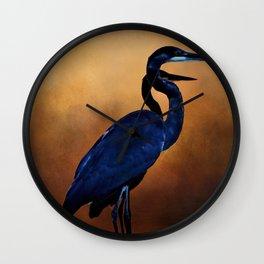 Great Blue Herons Wall Clock
