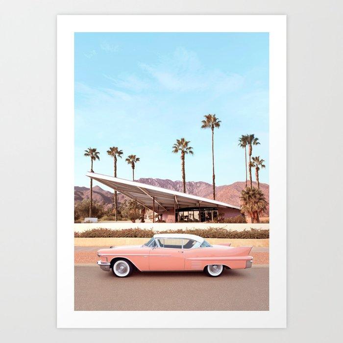 Palm Springs Kunstdrucke