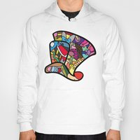 mad hatter Hoodies featuring Mad hatter by Ilse S
