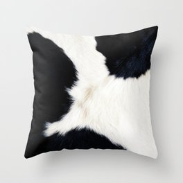 Farmhouse Cowhide Throw Pillow