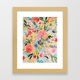 Flower Joy Framed Art Print