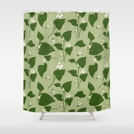 Diep Ca - Vietnamese Fish Mint // Sage Shower Curtain