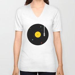 Music, Everywhere Unisex V-Ausschnitt