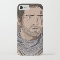 uncharted iPhone & iPod Cases featuring Nathan Drake (Uncharted) by  Steve Wade ( Swade)