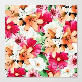 Flowers Potpourri two Canvas Print