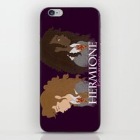 hermione iPhone & iPod Skins featuring Hermione Granger by HappyQiwi