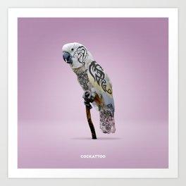 Cockattoo Art Print