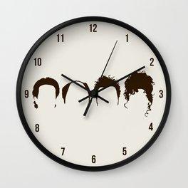 Seinfeld Hair Wall Clock