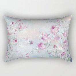 Rose Meadow Rectangular Pillow