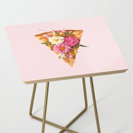 FLORAL PIZZA Side Table