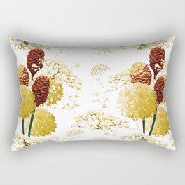 Wild bouquet Rectangular Pillow