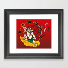 Raijin Framed Art Print