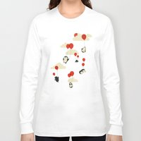 balloons Long Sleeve T-shirts featuring We Can Fly! by Jay Fleck