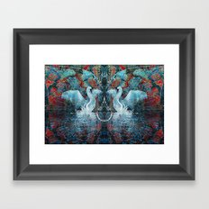 The Song of Swans Framed Art Print