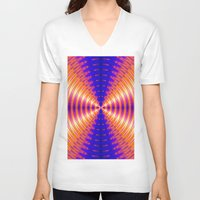channel V-neck T-shirts featuring The Light Channel by Art-Motiva