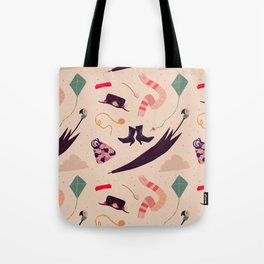 Practically Perfect Pattern Tote Bag