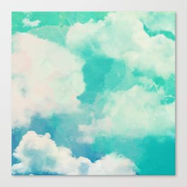 Cloud pattern Canvas Print