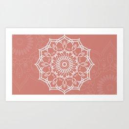 Mandala Collection XIX Art Print