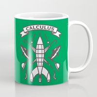 tintin Mugs featuring Seal Of Calculus by M. Gulin