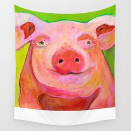 Priscilla on Holiday 2015 Wall Tapestry