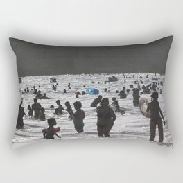 Shadow Beach Rectangular Pillow
