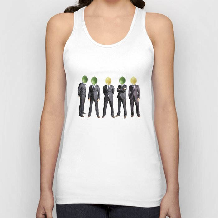 lemon and lime heads Unisex Tank Top