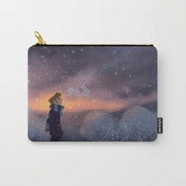 Ten Thousand Snowflakes Carry-All Pouch