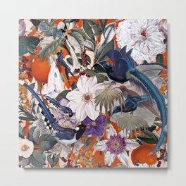 Floral and Birds XXVI Metal Print