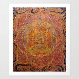 Muladhara - Root Chakra Art Print