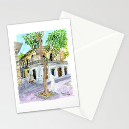 View from Parque Cristo, Habana Vieja, Cuba Stationery Cards