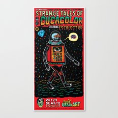 strange tales of cucacolor Canvas Print