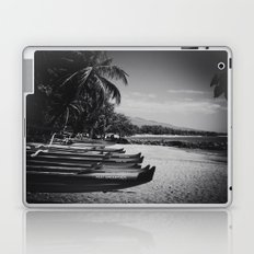 Sugar Beach Hawaiian Outrigger Canoes Kihei Maui Hawaii Laptop & iPad Skin