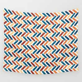 Skateboard Color Pattern Wall Tapestry