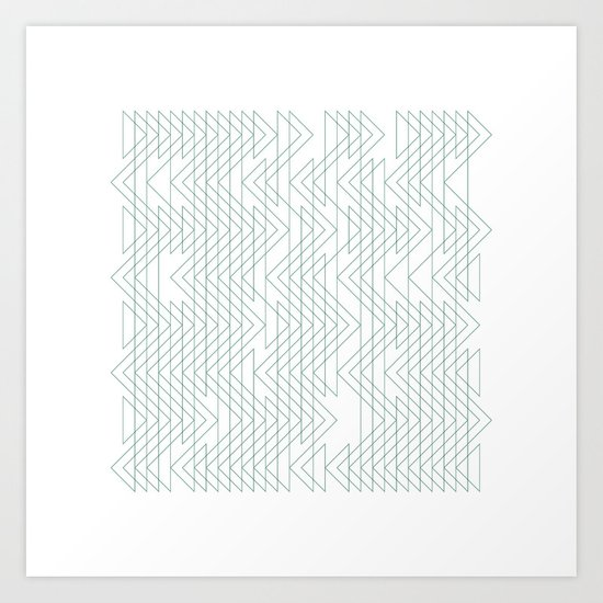 #402 Shoal x-ray – Geometry Daily Art Print